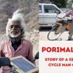 Porimal Kanji Cycle Man Of India