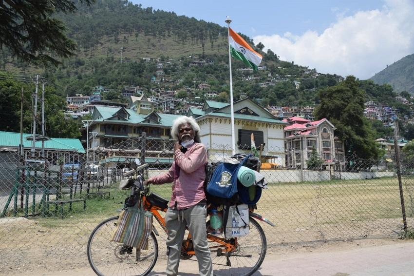 Porimal Kanji (Cycle Man of India)